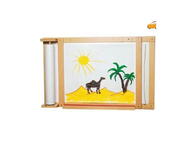 Nástěnná tabule na malování