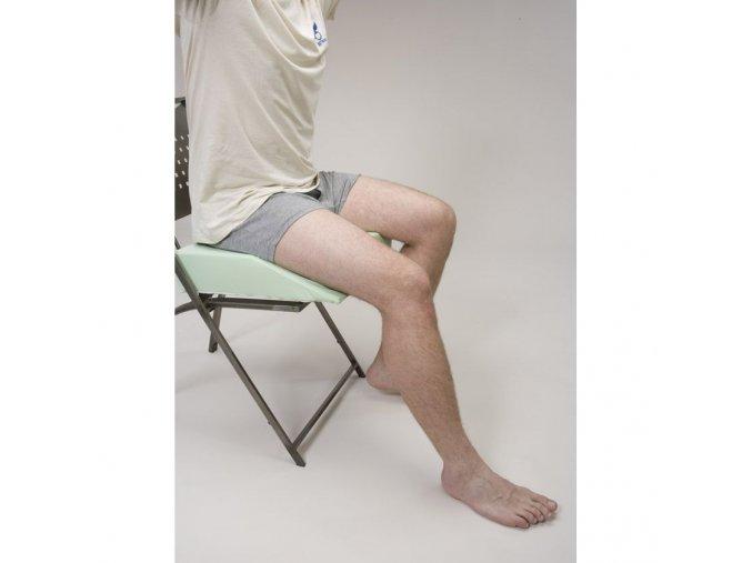 Artrodézní podložka levá - kvádr s úkosem