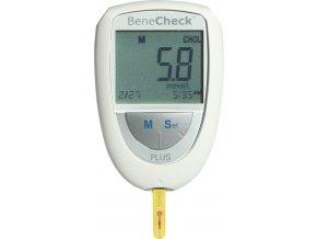 Monitorovací systém pro glukózu a cholesterol BeneCheck Plus