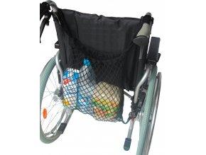 Síť na vozík černá