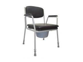 Toaletní židle pevná