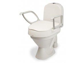 """Nástavec na WC """"CLOO"""" s područkami, nastavitelný"""