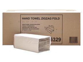Skládané papírové ručníky Tork IFA Zigzag-ZZ 250, 1 vrstva, 5 000 ks, šedá