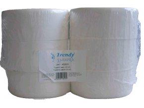 Toaletní papír TRENDY jumbo, 23 cm/9,5 cm, 2 vrstvy, celuloza, 1x6 rolí