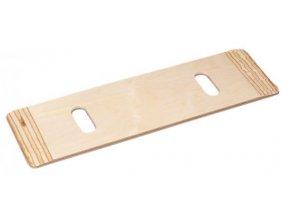 Deska/prkno pro přesun, dřevo, 76 x 21 cm