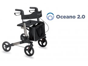 Chodítko čtyřkolové skládací OCEANO 2.0