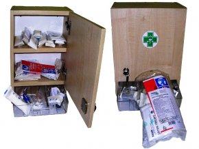 Nástěnná lékárna ZM – 10 dřevěná