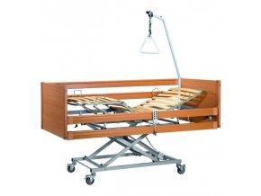 Lůžko polohovací elektrické dřevěné CASA MED II
