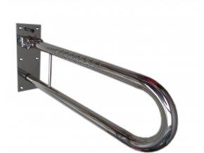 Bezpečnostní odklopné madlo nerezové 60 cm