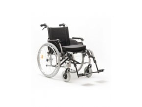 Invalidní vozík mechanický FELIZ s přídatnými brzdami