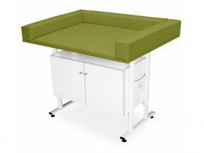 stolik do bada niemowlat z szafka