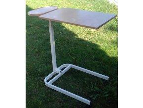 Jídelní a čtecí stolek se sklopnou deskou